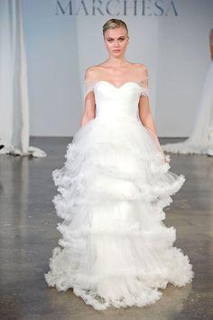 Marchesa Bridal Spring 2014 Collection. www.theweddingnotebook.com