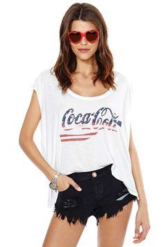 Chaser Cola Tank | Shop Americana at Nasty Gal