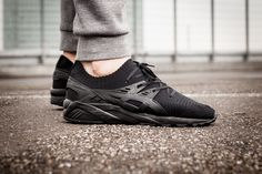 """Gel-Kayano Trainer One Piece Knit Pack """"All Black"""" - Release"""