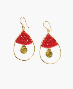 Jewel Drop Earrings - Noonday Collection