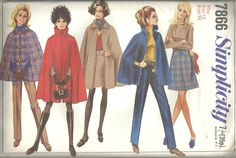 Vintage Sewing Pattern. Simplicity 7866  by IsellVintagePatterns