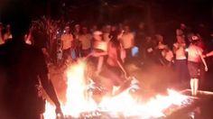 Video Mahasiswa Jalan di Atas Api Saat Ospek Hebohkan Netizen