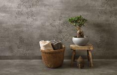 Vägg Concrete Flower