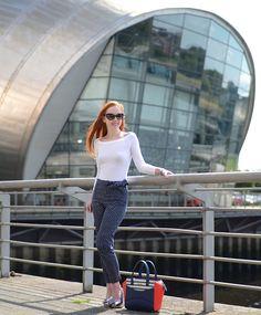 polka dot trousers | www.ForeverAmber.co.uk