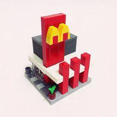 레고 맥도날드 미니모듈러 #lego #mini #modular #mcdonalds #creator #레고 #미니모듈러 #창작 ...