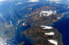 Northern Ireland, Scotland and the north of England. Picture: Twitter/Astro_TimPeake