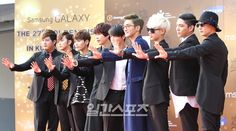 Red carpet photos from the '27th Golden Disk Awards'