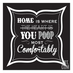 Bathroom Art toilet humor: 10 fun, funny & situationally appropriate prints for