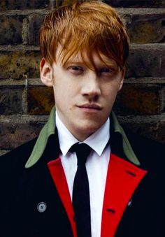"""Who you calling side kick?"" - Rupert Grint & attitude magazine."