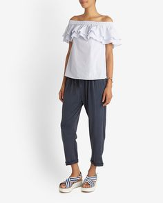 Skin Slouchy Sweat Pant | Shop IntermixOnline.com