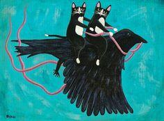 Cornelius Crow by Ryan Conner