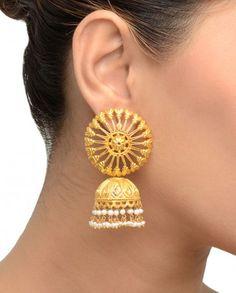 Chakra Earrings with Jhumki- Buy Earrings,Amethyst by Rahul Popli Online   Exclusively.in