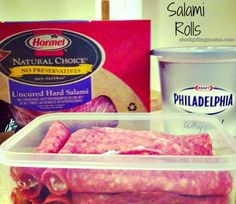 Salami Rolls are my go to gluten free snack for on the go and easy appetizer to take and serve at parties.
