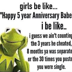 "This reminds me of my ex's fake arse relationship for ""14 years"" LMFAO ."