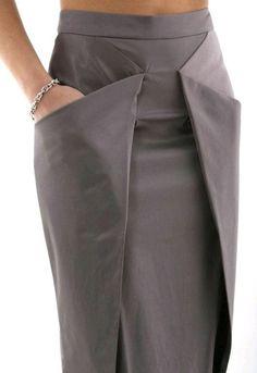Skirt design unique Ideas for 2019 Look Fashion, Fashion Details, Diy Fashion, Fashion Dresses, Womens Fashion, Fashion Tips, Classy Fashion, French Fashion, Retro Fashion