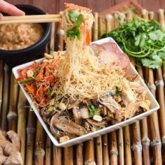 Thai Peanut Sesame Vermicelli Noodles