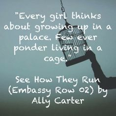See How They Run Ally Carter