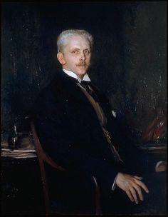 Edmund C. Tarbell (American 1862–1938) [Impressionism, Portrait, The Ten] Edward Robinson (1906) Museum of Fine Arts, Boston. – The Athenaeum