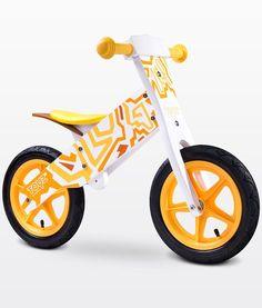 Bicicleta madera sin pedales Zap amarillo [ZAP AMARILLO] | 69,00€ : La tienda online para tu peke | tienda bebe pekebuba.com