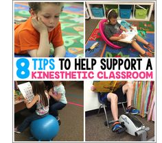 8 Tips to Help Support a Kinesthetic Classroom? Don't be mistaken! This is not a 'flexible seating' post. Flexible seating is part of the puzzle piece, but throwing a bunch of wobble seats and bean ba Differentiated Kindergarten, Differentiated Instruction, Kindergarten Teachers, Kindergarten Activities, Classroom Hacks, Classroom Organization, Classroom Management, Behavior Management, Classroom Decor