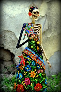 Frida Kahlo Catrina by el_catrinero, via Flickr