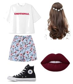 """""""Elegant Outfit"""" by justadancelover12 on Polyvore featuring Converse and ASOS"""