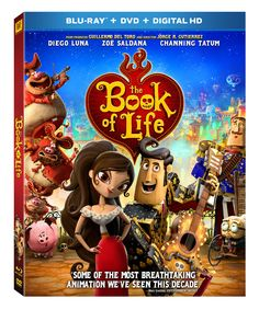 The Book of Life Blu-ray Combo Pack #BOLInsiders