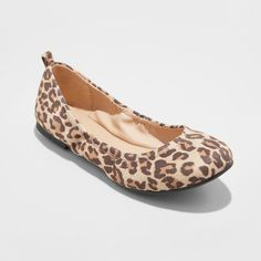 Imn Shoes Adult Ballet Flats Hadley Mossimo Supply Co. Brown 9.5