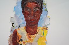 Kay Hassan Uses Everyday Materials to Tell Compelling Stories Torn Paper, Album Covers, Portrait, Gallery, Painting, Art, Art Background, Men Portrait, Painting Art
