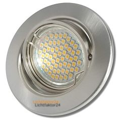 6 x SMD Deckenstrahler TOMAS 230V 60er Power LED Leuchte.