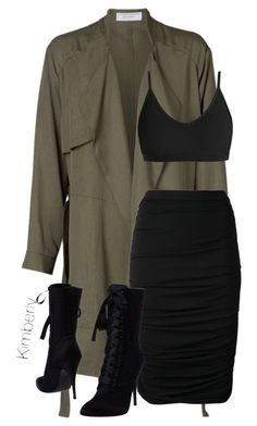 """Untitled #1822"" by whokd ❤️ liked on Polyvore featuring Lanvin and Balmain"