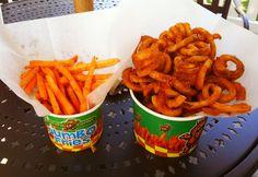 """A Filipino delight called """"Potato Corner"""" we discovered in The Americana Mall in Glendale, California."""