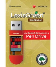 LexisGreen Constitution: Law Books & Bare Acts on a Pen Drive