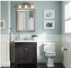 Craftsman Bathroom Vanity Elegant Shop Style Selections Drayden Grey Integral Single Sink Bathroom Photos Of Craftsman Bathroom Vanity Luxury 21 Stunning Craftsman Bathroom Design Ideas Pictures Guest Bathrooms, Downstairs Bathroom, Upstairs Bathrooms, Small Bathrooms, Shared Bathroom, Chic Bathrooms, Small Rooms, Bathroom Sink Cabinets, Single Sink Bathroom Vanity