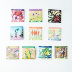 Heirloom Seed Art Packets (Spring & Summer Collections) on Food52