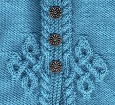 Cul-de-sac -front close up Cable Knitting, Knitting Stitches, Free Knitting, Crochet Needles, Knit Crochet, Knit Stitches For Beginners, Drops Design, Stitch Patterns, Knitting Patterns