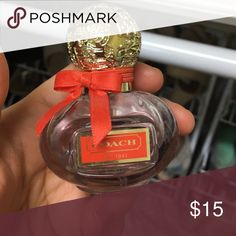 """Coach """"Poppy"""" perfume- 1oz Sprayed once and it just didn't stick with me. Coach Other"""