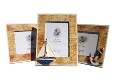 Auctionopia: Nautical Frames 4 Assorted 5 X 7(Pack of 48)