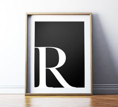 Alphabet Collection A-Z Words with Definition Wall Decor Art Poster Print