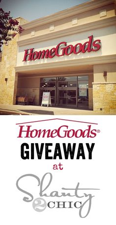 Great HomeGoods Giveaway! #HomeGoodsHappy