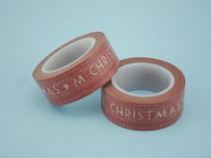 Merry Christmas on Red Washi Tape Washi Tapes, Artisan Jewelry, Merry Christmas, Fashion Jewelry, Red, Design, Merry Little Christmas, Happy Merry Christmas, Rouge