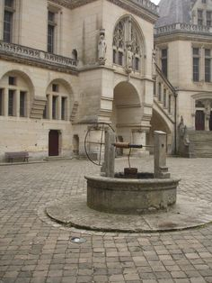 Courtyard Well at Chateau de Pierrefonds ~ Merlin TV Castle