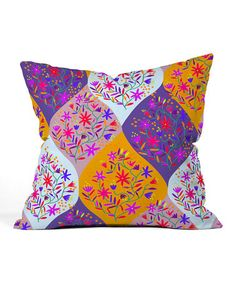 Moroccan Party Throw Pillow