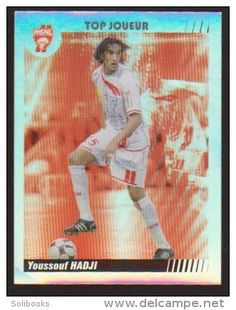 YOUSSOUF HADJI TOP JOUEUR BRILLANTE AS NANCY LORRAINE CLUB FOOTBALL IMAGE N° 312