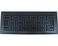 Solid Brass Oil Rubbed Bronze Wicker Floor Register | Floor Registers | Floors To Go