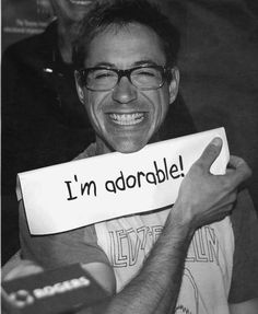 Yep! he is! [Robert Downey Jr.]