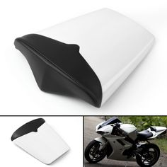 Rear Pillion Seat Cowl Fairing Cover For Triumph Daytona 675 White Triumph Motorcycle Parts, Triumph Motorcycles, Triumph Daytona 675, Electronic Items, Plastic Plates, Motorcycle Parts And Accessories, Rear Seat, Cowl, Sunglasses Case
