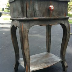 New distressed furniture by yours truly....