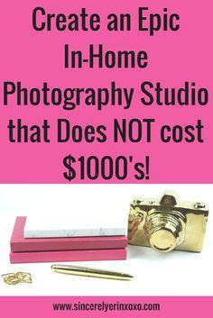 create an epic photography studio