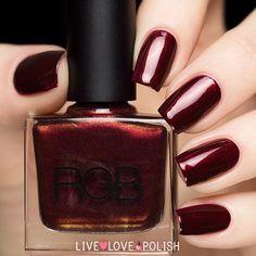 RGB Garnet Nail Polish (Core Collection) | Live Love Polish